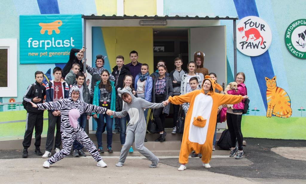Інтерактивне заняття для школярів провели волонтери
