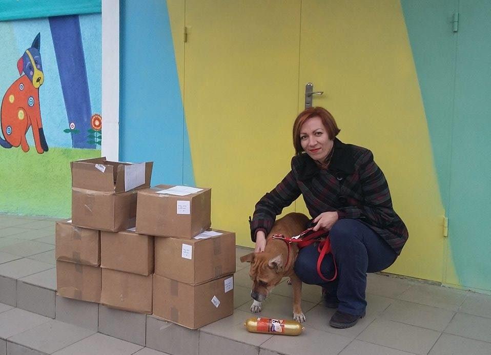 До Центру захисту тварин із подарунками завітали гості