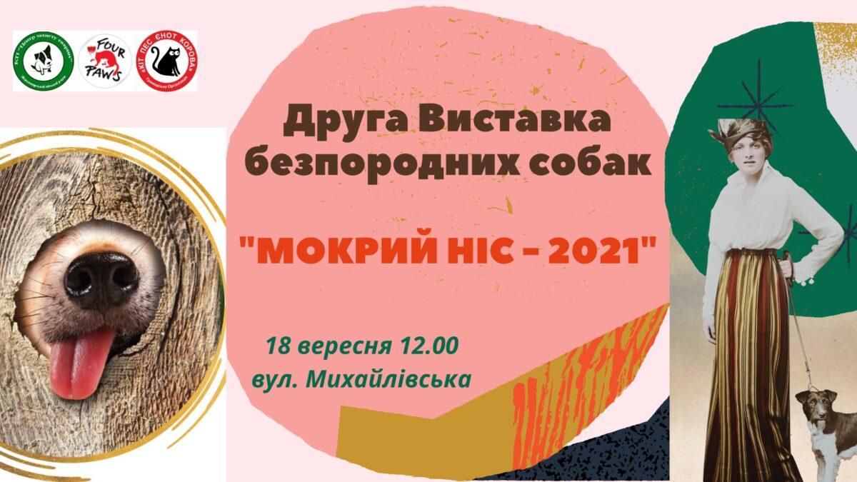 Друша Виставка безпородних песиків пройде у Житомирі